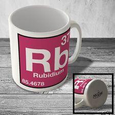 MUG_ELEM_062 (37) Rubidium - Rb - Science Mug