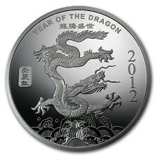 5 oz Year of the Dragon Silver Round - SKU #65013