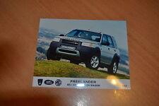 PHOTO DE PRESSE ( PRESS PHOTO ) Land Rover Freelander XE de 1997 RO136