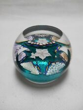 Caithness paperweight - Edinburgh - Aquamarine Limited Edition