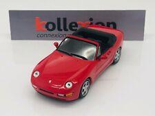 Minichamps 400062330 porsche 968 cabriolet 1994 red 1.43