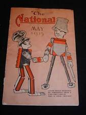 "Antique ""THE NATIONAL"" Magazine, May 1915, National Blank Book Co., Holyoke, MA."