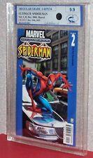 ULTIMATE SPIDER-MAN #2 (reg.), Graded 9.9 by MCG (Mw. Com. Grad.) 2000, Marvel