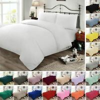 Duvet Cover Set Bedding Set Single Double King Super King Cotton Blend