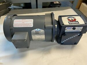Iron Man BMQ-818-30-56-L Ratio 30 Gear Reducer Boston Gear 1/2Hp Motor 1725 RPM