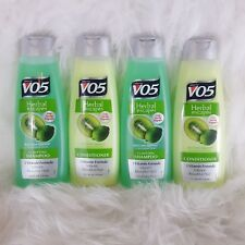 4-Pack VO5 Herbal Escapes Kiwi Lime Squeeze Shampoo & Conditioner 12.5oz