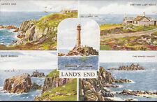 Cornwall Postcard - Views of Land's End    RS4470
