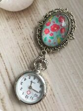 Genuine Design Antique Style Nurses  Fob Watch