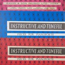 Le banche musica Istruttivo & armoniose Pianoforte 16 Schumann Merry Peasant/Canzone di caccia