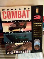 World Of Combat 3 Games PC CD-ROM Big Box Game Vintage