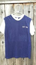 Vintage T Shirt-Fraternity Shirt_Sig Tau