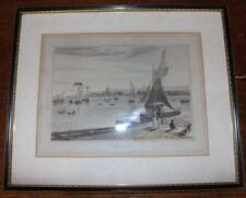 Antique (Pre-1900) Engraving Seascape Art Prints