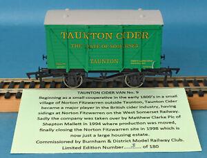 Dapol Taunton Cider, The Taste of Somerset, Ventilated Van, Nº 9, LE of 180
