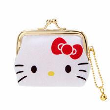 Hello Kitty Coin Case purse with a metal clasp crepe Sanrio 2020 Kawaii NEW