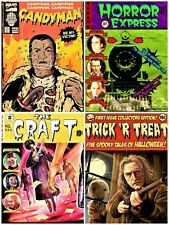 horror movie fake comics cover art 2 unofficial gildean t shirts take your pick