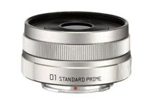 NEW Pentax Standard Single-Focus Lens 01 Standard Prime Silver Q Mount 22067