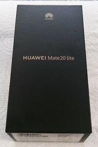 Huawei Mate 20 lite SNE-LX1 - 64GB - Black -  Unlocked-Dual SIM - Cracked Screen