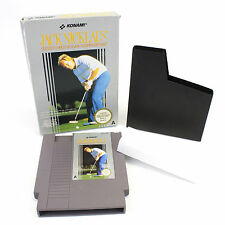 Jack Nicklaus for Nintendo, NES by Konami, 1990, Arcade, Golf, Boxed