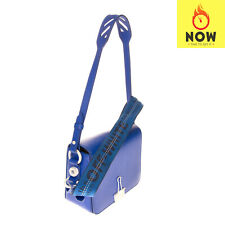 RRP €665 OFF-WHITE c/o VIRGIL ABLOH Leather Crossbody Shoulder Bag Made in Italy