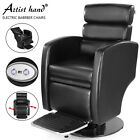 360° Electric Lift Black Recliner Barber Chair All Purpose Salon Beauty Styling