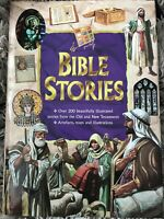 Bible Stories Illustrated Stories from Old New Testaments Hardcover Oversized
