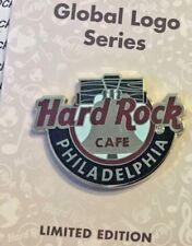 2018 HARD ROCK CAFE PHILADELPHIA GLOBAL LOGO SERIES/LIBERTY BELL LE PIN