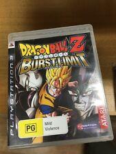 Dragonball Z Burst Limit PS3