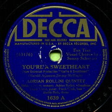 ADRIAN ROLLINI (You're A Sweetheart / Josephine) OLD TIME JAZZ 78 RPM  RECORD