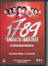 DVD ZONE 2--COMEDIE MUSICALE--1789 LES AMANTS DE LA BASTILLE