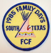 1985 Family Days South Texas FCF Royal Ranger Uniform Patch