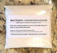 MAXX Organics Food Grade DIATOMACEOUS EARTH DE Detox Clense 30 Day Comp Organifi