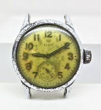 Vtg Elgin ORD DEPT USA OG 115137 US Military Wrist watch Parts Repair Free S/H