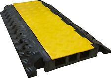 """Electriduct Inc - 3 Channel Rubber Cable Protector 2"""" x 2"""" (CP-RPS-EZ-3X-200)"""