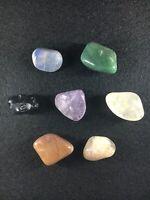 Chakras/Energy stones, 7 Cristaux différents pour Harmonie - Pocket Set 5