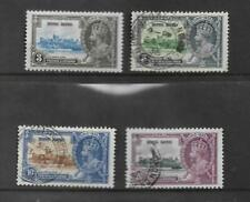 HONG KONG KING GEORGE V SILVER JUBILEE SET OF 4 SG 133/136  MY REF 2066