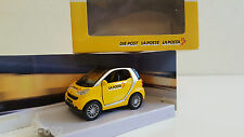 "Maisto - Smart Fortwo City Coupé ""La Poste La Posta Die Post"" (1/33)"