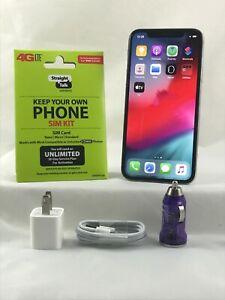 Apple iPhone 11 Pro Max- 64GB- Gray Straight Talk/Verizon Activation KIT + SIM