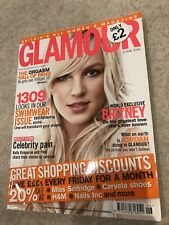 **BRITNEY SPEARS UK GLAMOUR MAGAZINE 2006 EXCELLENT CONDITION**