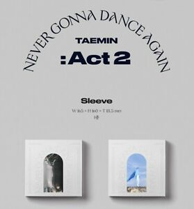 TAEMIN Never Gonna Dance Again : Act 2 3rd Regular KPOP Album CD+Photocard+etc