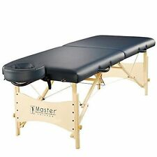 Master Massage Skyline Full Size Portable Massage Table Royal Blue 30 Inch