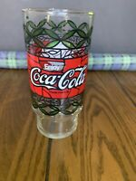 "1 VINTAGE Coca Cola Dairy Queen Drink Glass""Scrumpdillyishus!"""