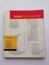 Adobe Type Library Hiroshige Vintage Font Software 1990 for Macintosh PS
