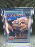 ZION WILLIAMSON 2019-20 2020 NBA Hoops Premium Stock Base Tribute RC #258 ROOKIE