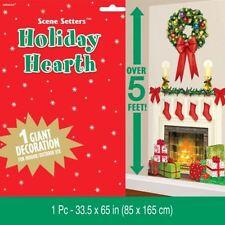 Decorazioni natalizie a parete e soffitto natale in plastica