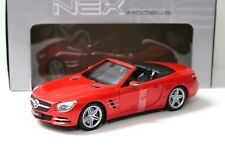 1:18 Welly Mercedes SL 500 Convertible R231 red 2012 NEW bei PREMIUM-MODELCARS