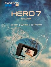 Go Pro HERO 7 SILVER Waterproof Action Camera NEW SEALED IN BOX