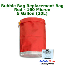 RED 160 MICRON 5 GALLON (20L) BUBBLE BAG FILTRATION HERBAL ICE EXTRACTION