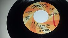 """THE BACHELORS Can I Trust You? / My Girl LONDON 20010 PROMO 45 7"""""""