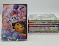 Dora the Explorer & Go Diego Go DVD Assorted Lot of 7 Titles Brand New Sealed