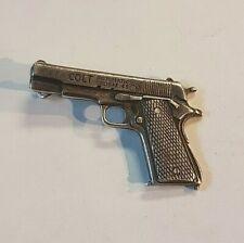 Colt 45 Calibre Sterling Silver Charm - ROBBINS Co. ATTLEBORO MASS [Ori]
